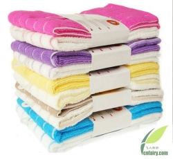 Microfiber Stripe Towels all purpose cleaning