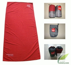 Sports towels with net bag