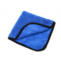 Luxury 400 microfiber car wash towel